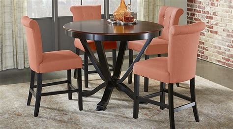 5 Counter Height Dining Room Sets by Orland Park Black 5 Pc Counter Height Dining Set Dining