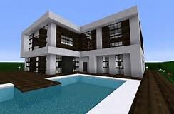 Beautiful Maison De Luxe Moderne Minecraft Tuto Contemporary ...
