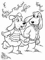 Coloring Pages Pound Puppies Dog Puppy Azcoloring sketch template