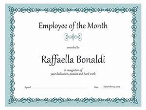 employee of the month certificate sample of employee of With employee of the month certificate template with picture