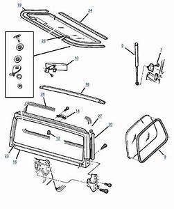 Tj Wrangler Windshield Frame Parts