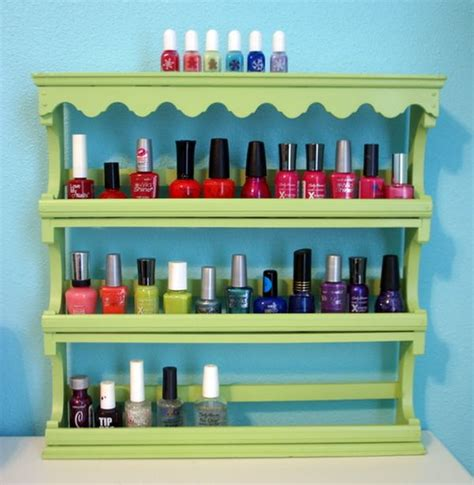 Cool Spice Rack Ideas by 29 Cool Makeup Storage Ideas For Small Spaces