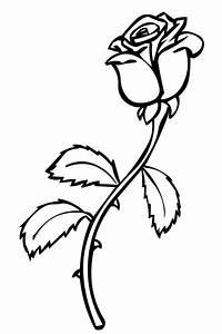 Ausmalbilder Zum Ausmalen Malvorlagen Rosen Kostenlos 2