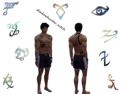 Shadowhunterwitch's Shadowhunter Runestattoos Set