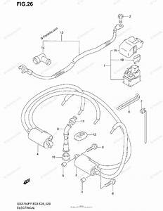Suzuki Motorcycle 1998 Oem Parts Diagram For Electrical