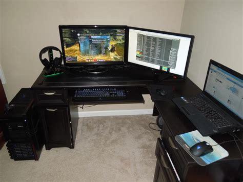 desks for gaming l shaped gaming desk home furniture design