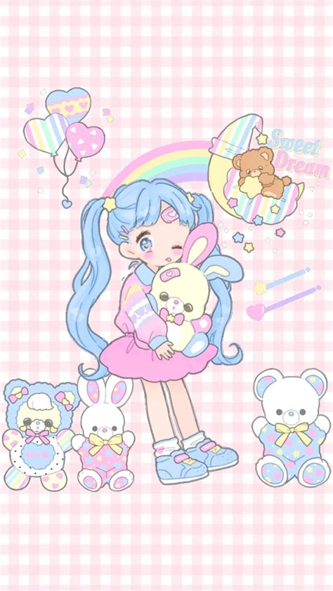 Kawaii Anime Wallpaper - kawaii wallpaper iphone 92 images