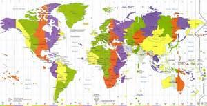 fuseaux horaires dans le monde 187 vacances arts guides voyages