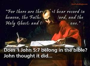 The History and Authority of 1 John 5:7 in the Word of God ...