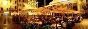 Cafe, Pantheon, Rome Italy Photograph by Panoramic Images