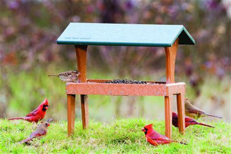 wild birds unlimited wbu fly thru ground feeder