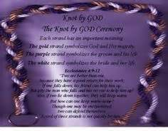 three cords wedding ceremony god 39 s knot image on strands cords and wedding