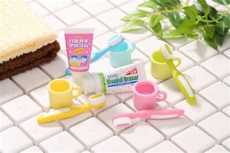 creative  cool erasers  iwako