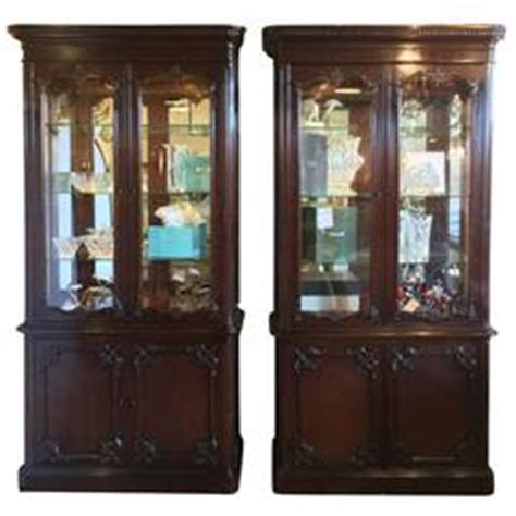 pictures of distressed kitchen cabinets widdicomb green paint decorated style curio 7450