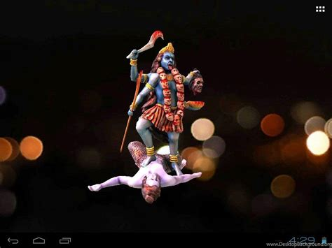 Maa Kali Animation Wallpaper - 3d maa kali live wallpapers android apps on play