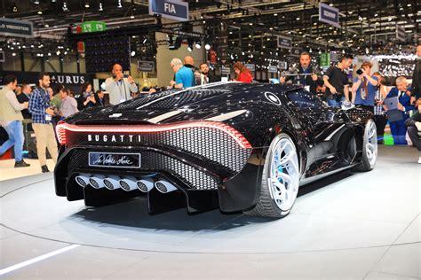 Bugatti La Voiture Noire Is The World's Most Expensive New ...