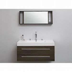 meubles de salle de bains elegante avec lavabo achat With meuble de salle de bain avec lavabo integré