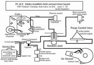 Missing Vacuum Line- Where Does This Go  2 6l  U0026 39 87 Raider