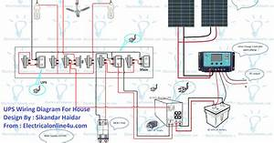 Ups Wiring Diagram With Solar Panel For House