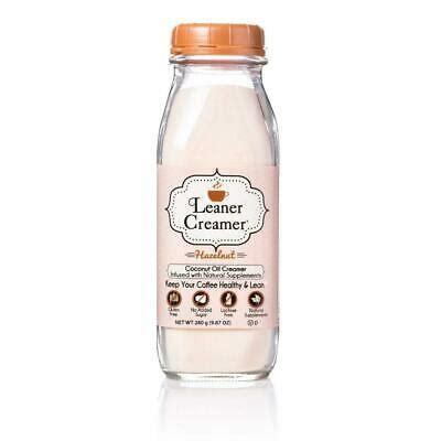 Dairy free, no sugar added and paleo! Leaner Creamer, Non-Dairy Coffee Creamer - Sugar Free, Low Calorie, Coconut Oil,   eBay