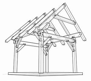 12x12 Timber Frame Plan - Timber Frame HQ