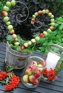 Pinterest Herbst Basteln : mit pfeln basteln herbst pinterest basteln herbst und herbstdeko ~ Orissabook.com Haus und Dekorationen