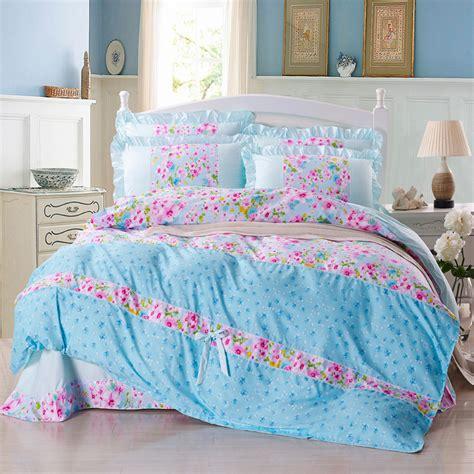 princesse pastorale textile de maison 4 pcs lote coton 3d ensembles de literie 2015 impression