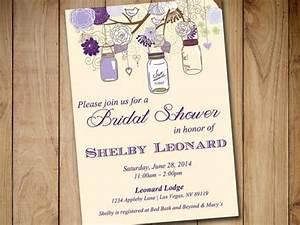 rustic bridal shower invitation template mason jar With mason jar bridal shower invitations templates