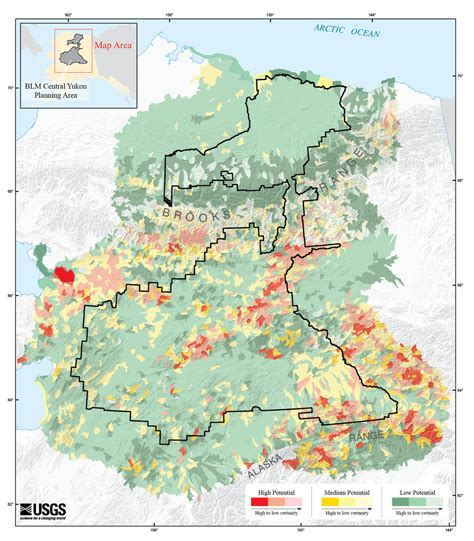 commodities research bureau gis based analysis of potential for concentrations of