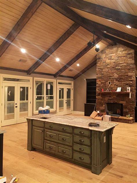 plan mx finished  level   basement house plans ranch house plans barn house
