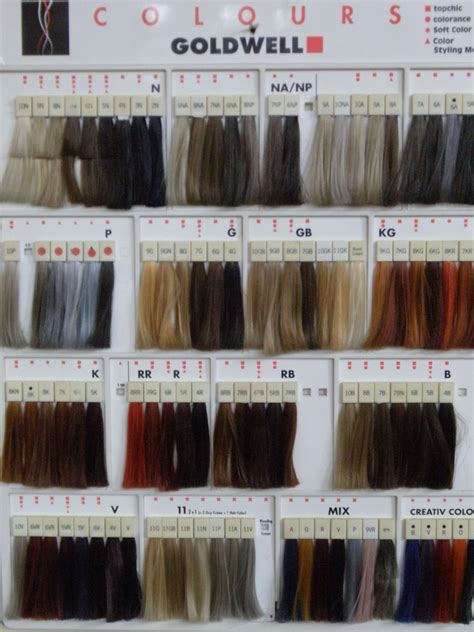 professional hair color swatches goldwell color swatches color therapy hair color swatches