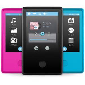 wedding registry electronics ematic 8gb 2 4 quot touchscreen mp3 player with
