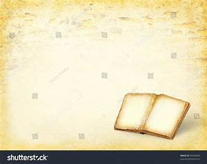 Open Book Empty Pages Ancient Blank Stock Photo 95084896 ...