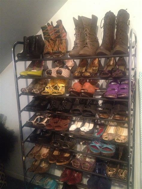 target shoe rack get rid of the clutter and prep your for the new