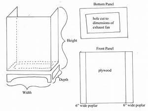 How To Construct A Custom Kitchen Range Hood