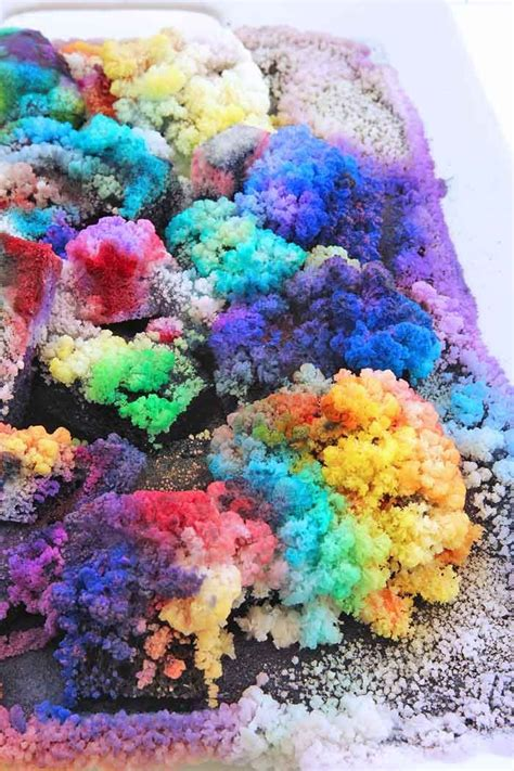 science fair project idea diy salt crystals science