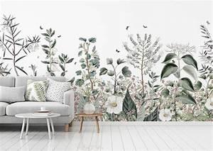 Au Fil Des Couleurs Papier Peint : papier peint botanical garden au fil des couleurs ~ Melissatoandfro.com Idées de Décoration