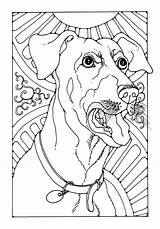 Bark Coloring Dogs Template Pdf sketch template