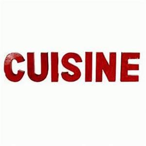 Lettre Decorative Cuisine : lettre et chiffre autocollant comparez les prix pour professionnels sur page 1 ~ Teatrodelosmanantiales.com Idées de Décoration