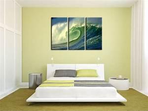 Decoration Murale Tableau : d coration murale surf tableau d co pas cher toile plexi et alu ~ Teatrodelosmanantiales.com Idées de Décoration