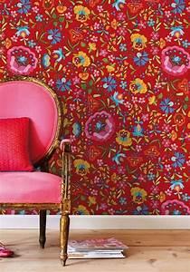 Papier Peint Fleuri : 1000 id es sur le th me papier peint fleuri sur pinterest ~ Premium-room.com Idées de Décoration