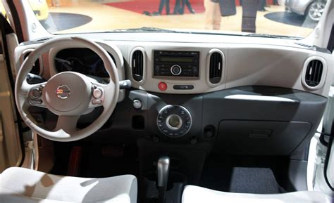 nissan cube interior car and driver