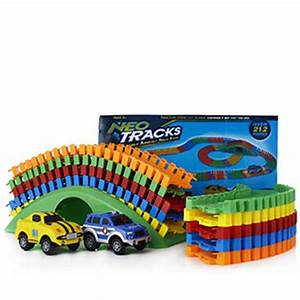 Neo Tracks 212 pc Flexible Raceway Track System with 2