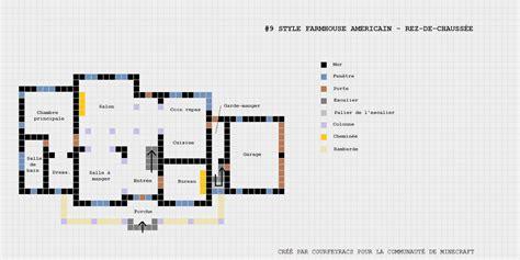 Plan D'une Maison De Style Farmehouse Américaine