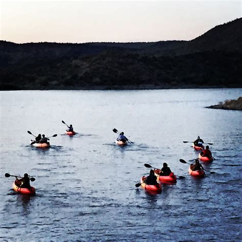 Lake Pleasant Boat Tours by Full Moon Kayak Tours Offered On Lake Pleasant My Local