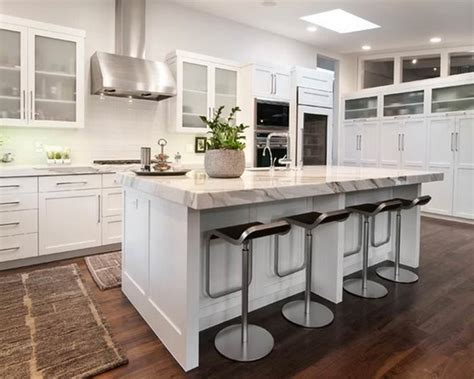 small kitchen islands  seating  storage marble top