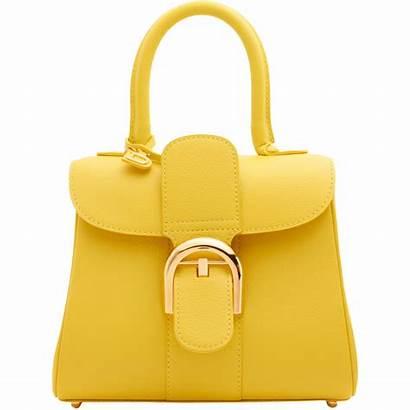 Bag Transparent Bags Purse Handbags Handbag Yellow