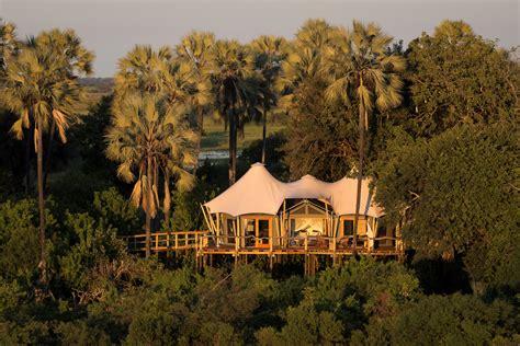 okavango botswana delta camp kwetsani safari africa lodges wilderness safaris south accommodation tented travel african lodge global guide carrier wildlife