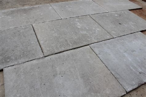 limestone flagstones selected and antiqued