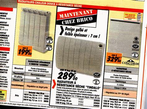 Radiateur Electrique 2000w Brico Depot